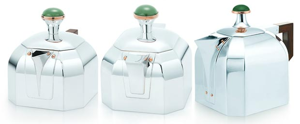 Drink Tea Like Gatsby With Tiffany $34,550 Silver Tea Set!
