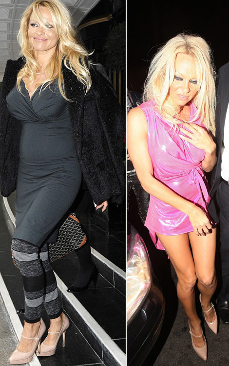 Pamela Anderson Wears The Same Shoes Day And Night