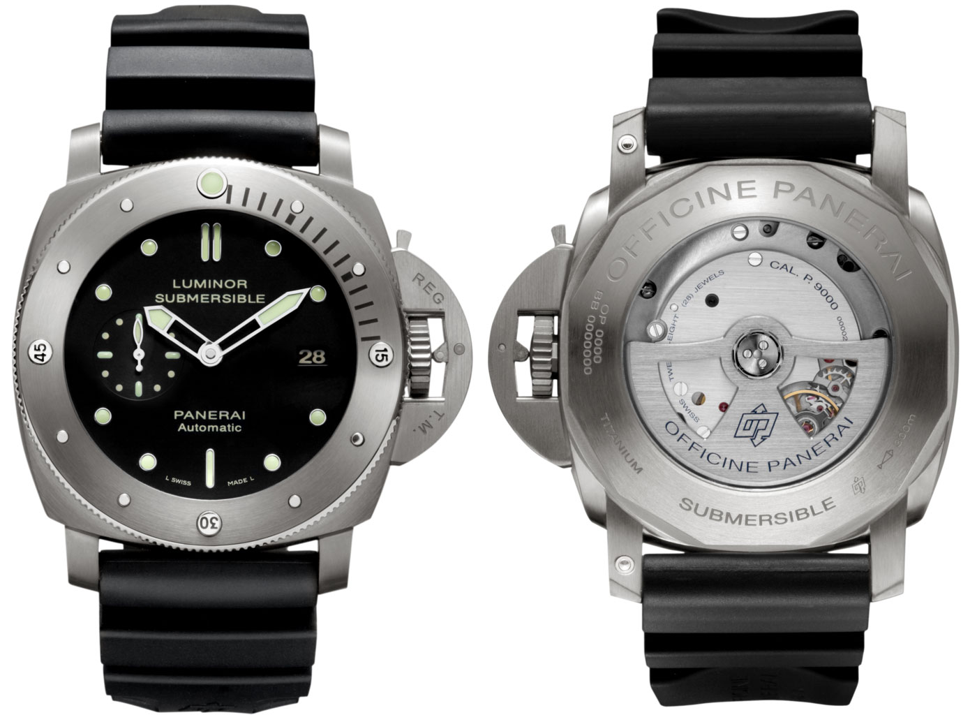 Panerai Luminor 3 days submersible 1950 watch