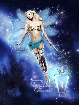 Paris Hilton Fairy Dust perfume Ad print