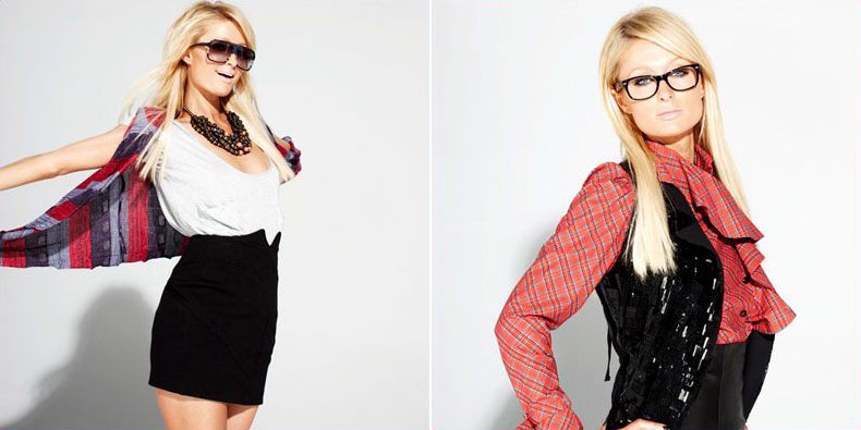Paris Hilton Nylon magazine November 2008 photos