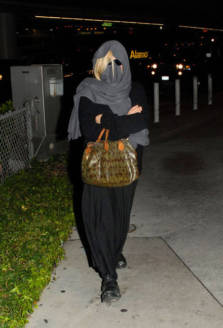 Patricia Arquette Louis Vuitton Speedy bag