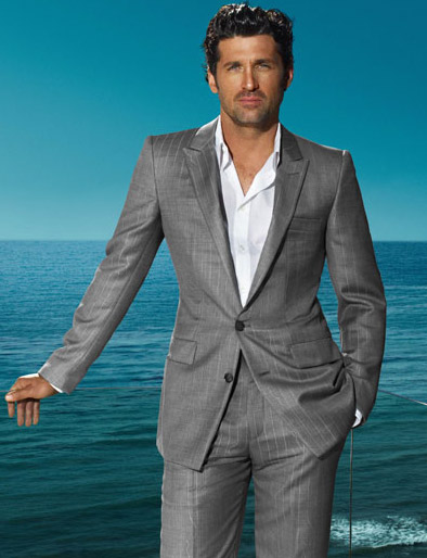 Patrick Dempsey Versace Spring Summer 09 ad campaign