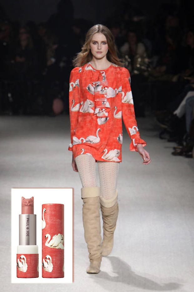 Paul and Joe Fall 2010 catwalk collection cat lipstick