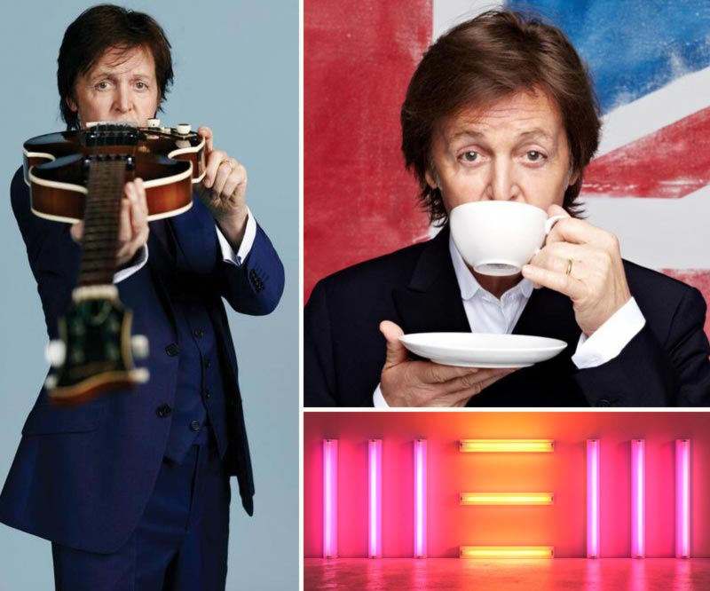 Paul McCartney New album artwork