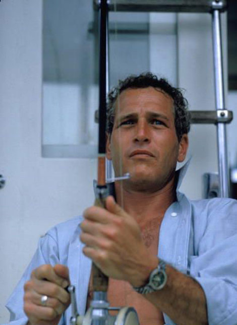 Paul Newman fishing