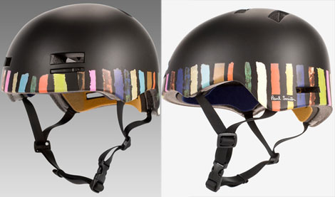 Paul Smith Stripes Giro cycling helmets