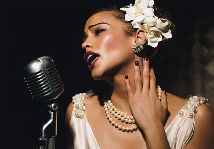 Paula Patton Billie Holiday American Icons Glamour