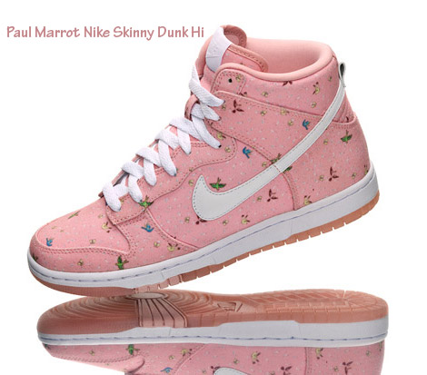 Paule Marrot Nike Skinny Dunk Sneakers