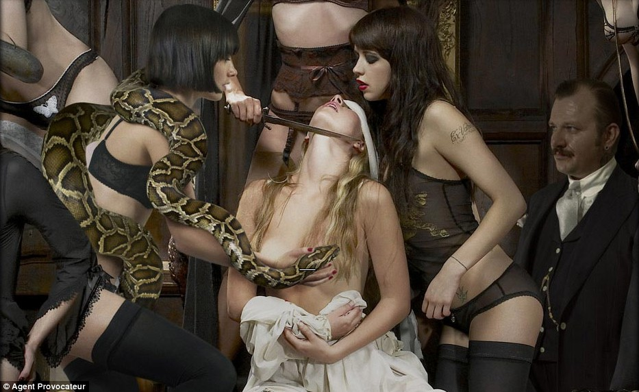 Peaches Geldof for Agent Provocateur Season of the Witch Ads