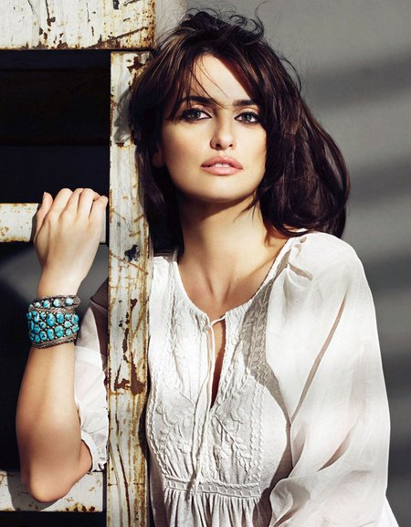 gallery with Penelope Cruz photos from her latest Mango campaign right