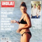 Penelope Cruz second pregnancy Hola magazine cover