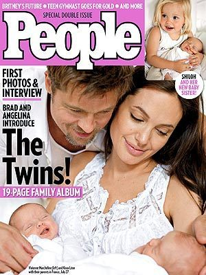 People's Brangelina Twins Fourth Best Seller Ever