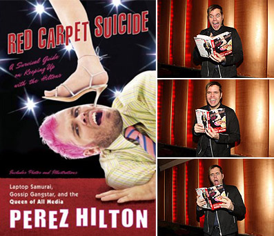 Perez Hilton Red Carpet Suicide book