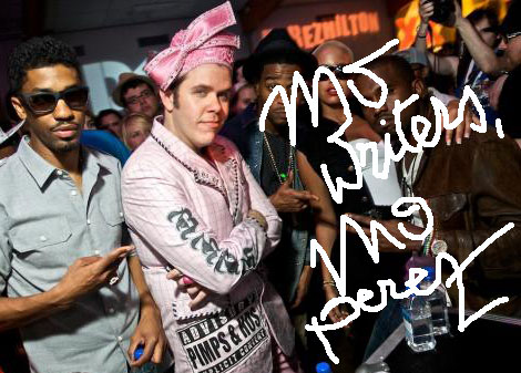 Perez Hilton Doesn't Write PerezHilton.com!