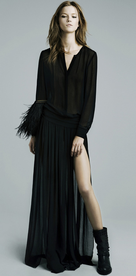 The Perfect Black Evening Dress Of The Holidays Season! Of Any Season!
