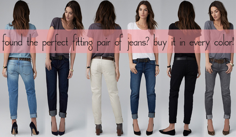 perfect fitting jeans buy in every color
