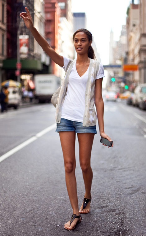 Perfect Summer Outfit Joan Smalls