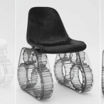 Pharrell Tank Chair Black White 1
