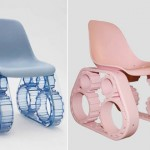 Pharrell Tank Chair Blue Pink