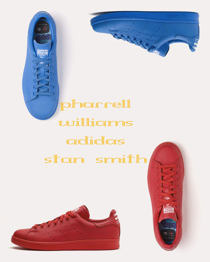 pharrell adidas stan smith sneakers