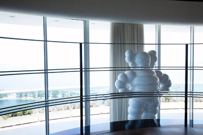 Pharell Williams home giant Kaws