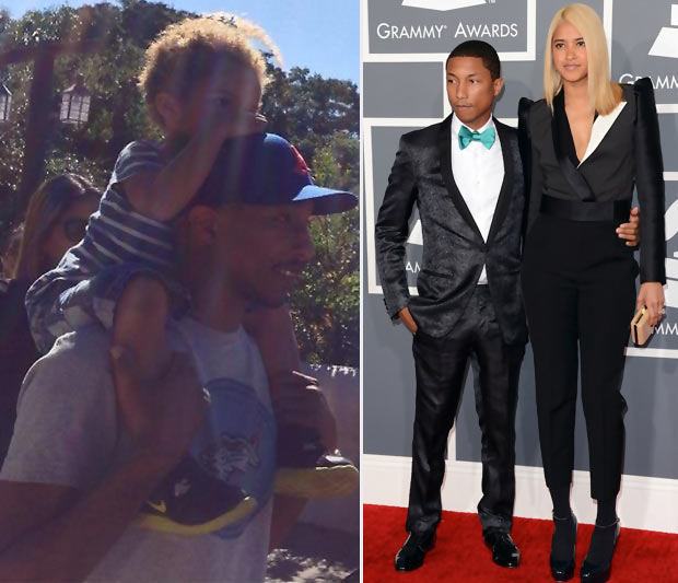 Pharrell Williams wife Helen Lasichanh son Rocket Man