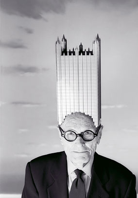 Philip Johnson Vanity Fair