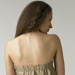Phillip Lim Orchid Strapless Dress Back View