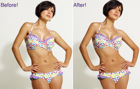 Photoshop Before And After By Debenhams