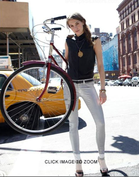 Neiman Marcus Vs. A Model And Her Bike! Inevitable Photoshop Disaster!