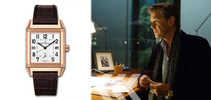 Pierce Brosnan watch A Long Way Down movie Jaeger LeCoultre