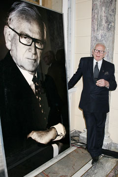 Pierre Cardin 86 years Old at SCAD Star Etoile Awards New York