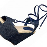 Pierre Hardy GAP denim wedges sandals Summer 2010