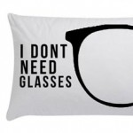 Pilloe message pillows glasses