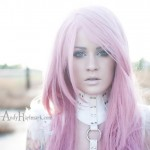 pink long beautiful artsy hair