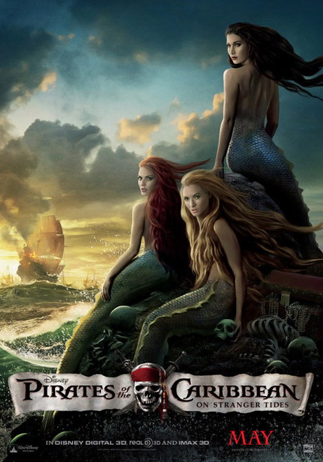 Pirates of the Caribbean on Stranger Tides mermaids