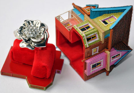 Pixar Up house ring box