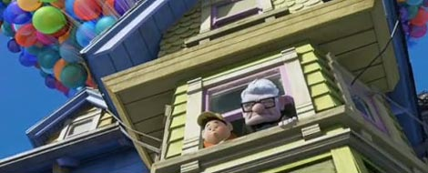 Pixar Up house