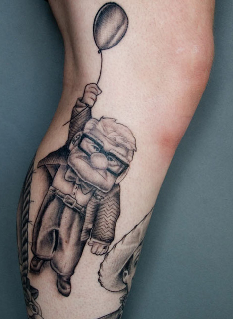 Toy Story Tattoo Vs Up Tattoo
