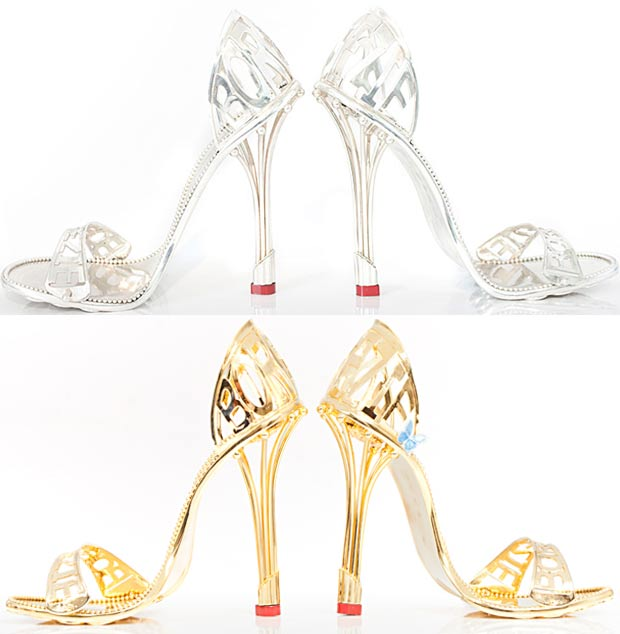 platinum sandals gold sandals