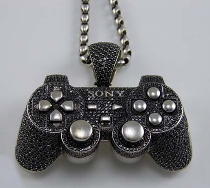 Playstation controller Diamonds Gold