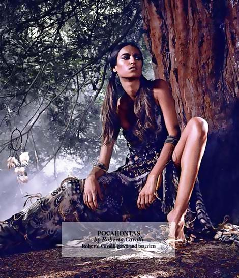 Pocahontas couture Disney Harrods