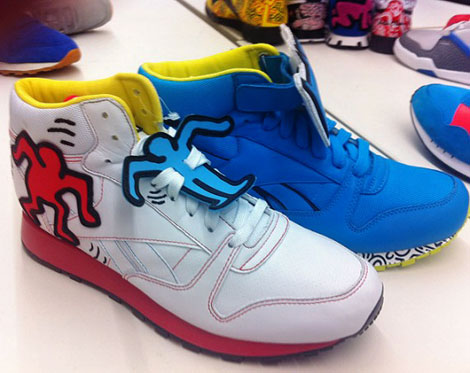 pop sneakers Keith Haring Reebok sneakers