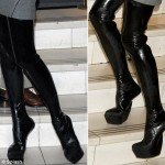 Posh Antonio Berardi Heel Less PVC boots