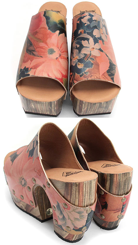 flower power clogs John Fluevog