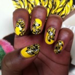 Prada Bananas Yellow manicure