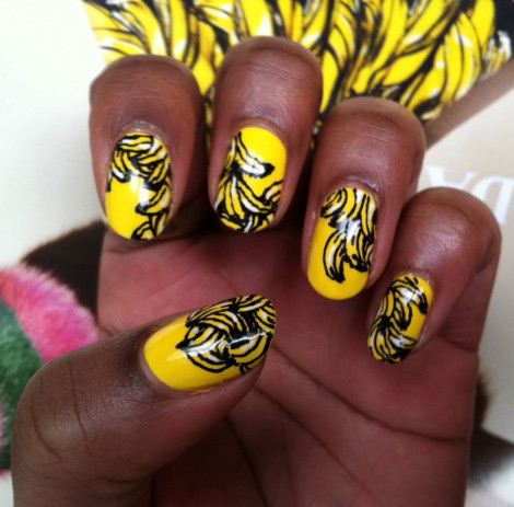 The New It Nail Polish Yellow Bananas Manicure Stylefrizz