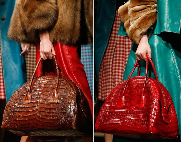 Prada Fall 2013 collection bags