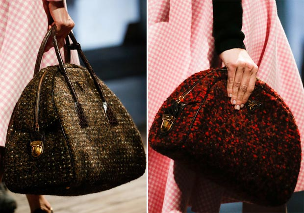 Prada Fall 2013 collection boucle bags